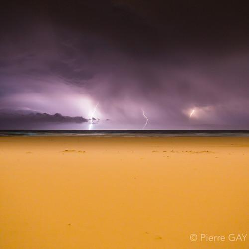 Storm Tallow Beach
